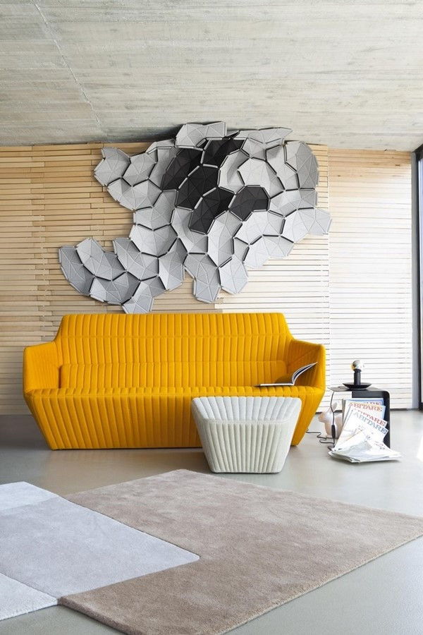 Facett by Ligne Roset is a colourful, conversation starter piece.