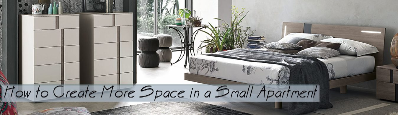 How to Create More Space in a Small Apartment