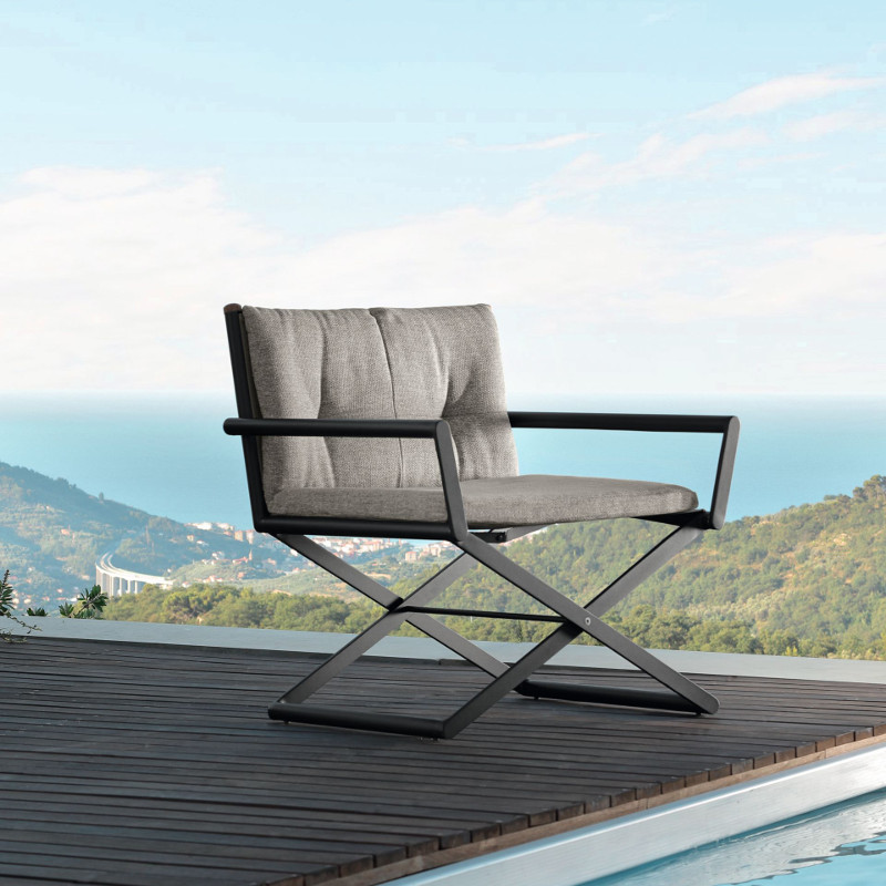 Domino Lounge Director Chair By Talenti