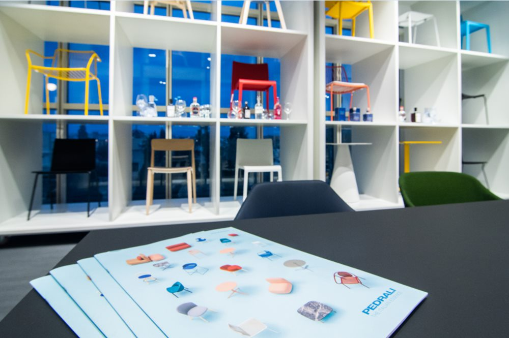 Office furniture exhibition at Fino Projects showroom