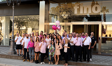 Fino supports Pink October and Movember