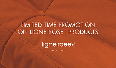 Ligne Roset Promotional Offer - Limited Time Promotion
