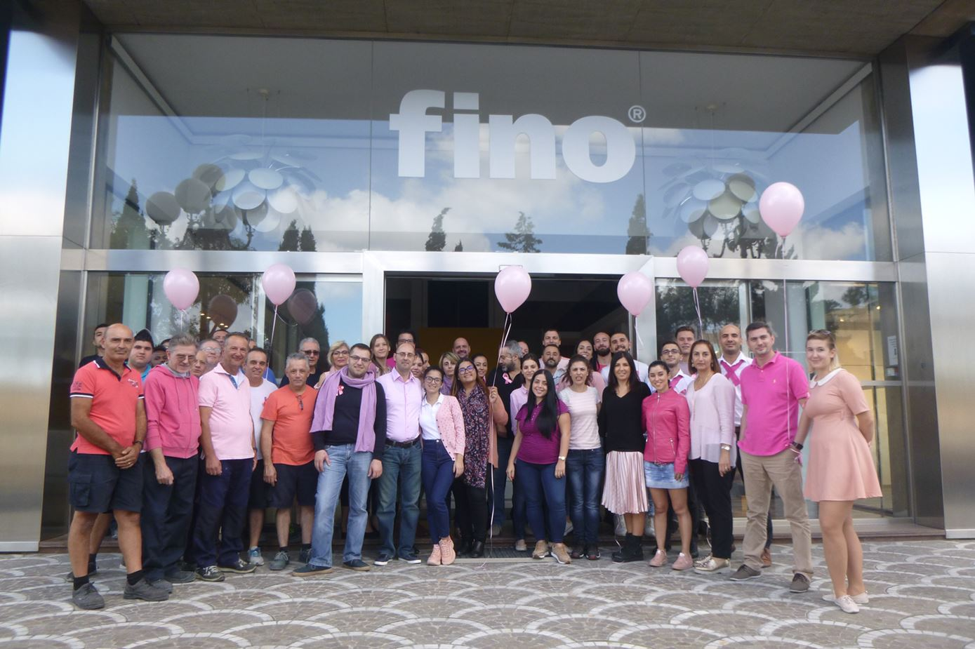Pink October at Fino